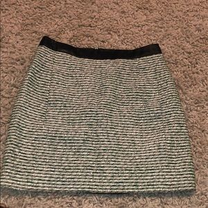 Balenciaga tweed skirt